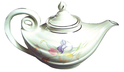 Aladdin Teapot